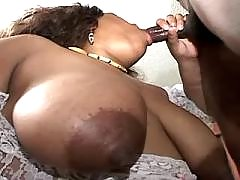 Ebony BBW with hot body goes naughty