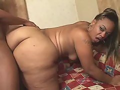 Fast and sweaty sex with ebony BBW