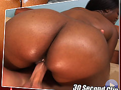 This big bootied ebony babe loves showing off her phat ass in these steamy vids